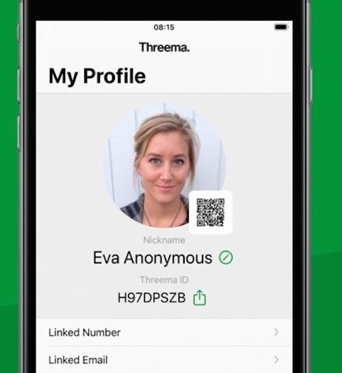 Threema bảo mật đến mức độ người dùng có thể đăng ký nick vô danh để sử dụng.