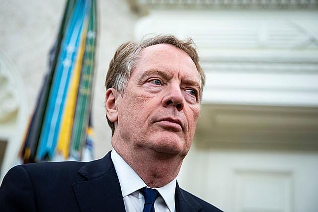 Đại diện thương mại Mỹ (USTR) Robert Lighthizer. Ảnh: Reuters.