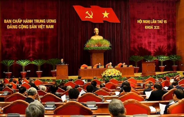 Hội nghị Trung ương 15 bế mạc sớm hơn dự kiến (Ảnh VGP).