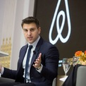 """<p class=""""Normal""""> <strong>Brian Chesky</strong></p> <p class=""""Normal""""> Tài sản: 12,9 USD</p> <p class=""""Normal""""> Tăng: 1,4 tỷ USD</p> <p class=""""Normal""""> Quốc gia: Mỹ</p> <p class=""""Normal""""> Nguồn tài sản: Airbnb (Ảnh: <em>Bloomberg</em>)</p>"""