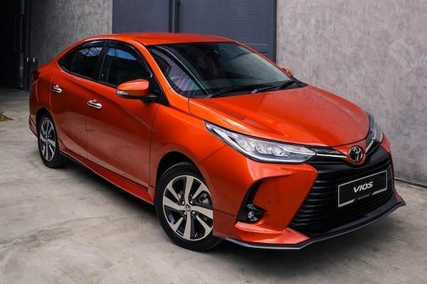 Lộ thiết kế Toyota Vios 2021 sắp trình làng Việt Nam