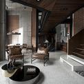 <p> Chưa bao giờ phong cách industrial (phong cách kiến trúc công nghiệp mạnh mẽ, cá tính) lại thể hiện rõ nét trong một căn hộ penthouse mang tính đột phá sáng tạo về không gian như thế này tại Hà Nội.</p>