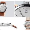 <p> Thông qua thiết kế mặt sau, bạn có thể nhìn thấy các bộ phận khác bằng tinh thể sapphire. Mẫu phụ kiện đang có giá 6.700 USD trên các trang thương mại điện tử. Ảnh: <em>Sina, Swisswatches Magazine.</em></p>