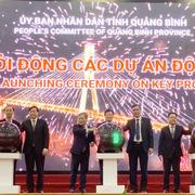 Quảng Bình trao chủ trương đầu tư và biên bản ghi nhớ hơn 6,1 tỷ USD