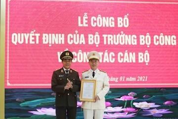 Nghệ An có tân Phó Giám đốc Công an tỉnh