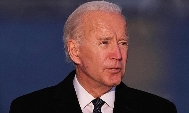 Tổng thống đắc cử Joe Biden tại sự kiện tưởng niệm nạn nhân Covid-19 ở thủ đô Washington ngày 19/1. Ảnh: AFP.