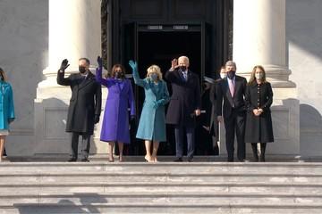 Biden đến quốc hội, chuẩn bị tuyên thệ nhậm chức tổng thống Mỹ