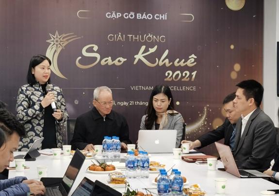 Phát động giải thưởng Sao Khuê 2021