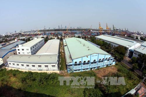 Khu chế xuất Tân Thuận, TPHCM.