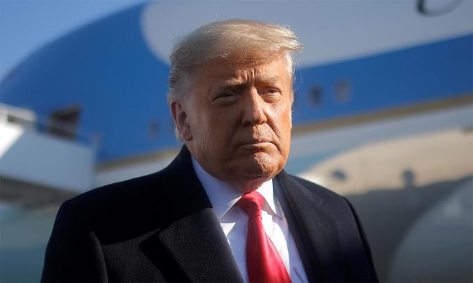 Thượng viện Mỹ ấn định thời gian xét xử Trump