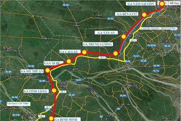 Hai nhà đầu tư Anh và Mỹ quan tâm tới dự án đường sắt 10 tỷ USD nối TP HCM - Cần Thơ