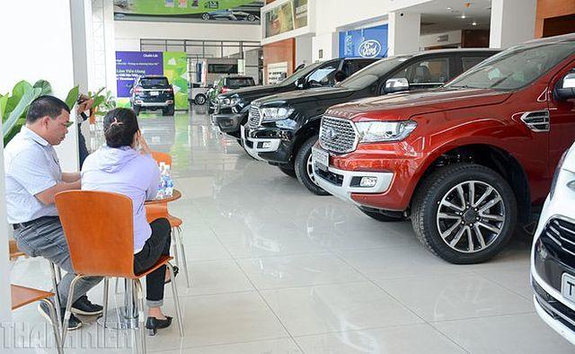 Nhiều đại lý Ford không còn xe EcoSport để bán.