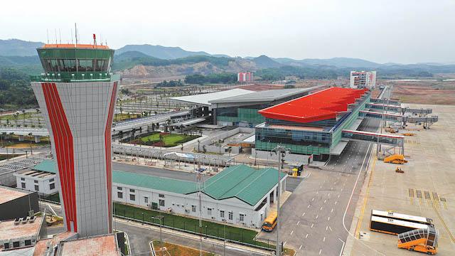 Sân bay Vân Đồn do nhà đầu tư tư nhân bỏ vốn xây dựng toàn bộ.