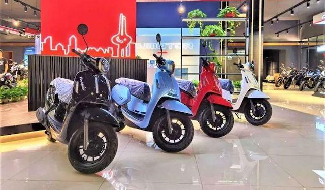 Xe tay ga Trung Quốc giá 1.700 USD, tham vọng cạnh tranh Honda Lead