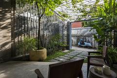 Thiết kế không giới hạn giữa nhà và vườn đem lại cảm giác tự do