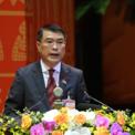 <p> Ông Lê Minh Hưng, Chánh Văn phòng Trung ương Đảng báo cáo chương trình làm việc tại Đại hội.</p>