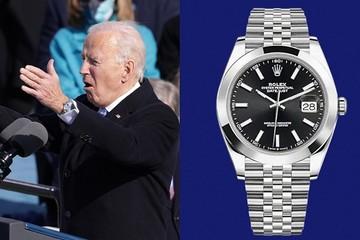 Vì sao đồng hồ Rolex của tân Tổng thống Joe Biden gây chú ý?