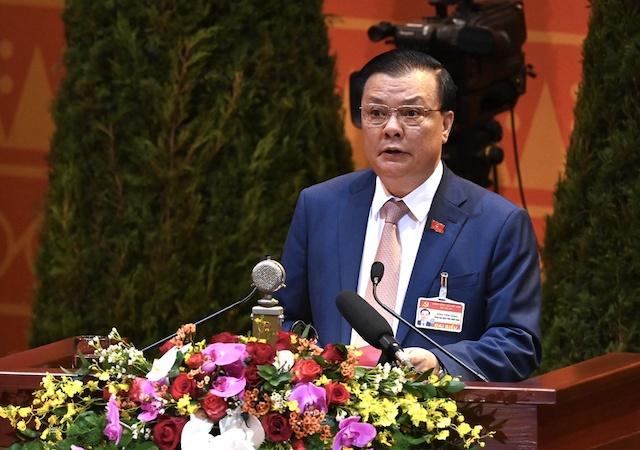 Bộ trưởng Tài chính Đinh Tiến Dũng.