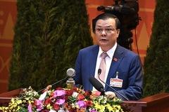 Bộ trưởng Đinh Tiến Dũng hứa giữ vững an ninh tài chính quốc gia