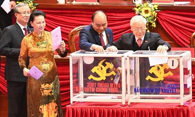 Đại hội XIII bầu Ban chấp hành Trung ương khóa mới
