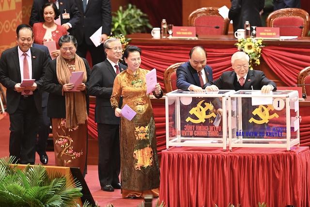 Trung ương bầu Bộ Chính trị, Tổng Bí thư, Ban Bí thư khóa XIII hôm nay (31/1).