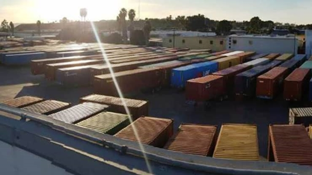 3 trong 4 container từ Mỹ tới châu Á là container rỗng, theo Mark Yeager, CEO Redwood Logistics.