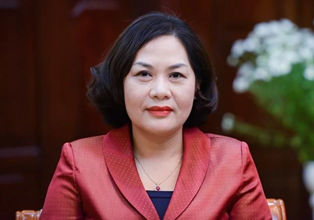 Bà Nguyễn Thị Hồng, Thống đốc Ngân hàng Nhà nước.