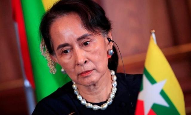 Cố vấn nhà nước Myanmar Aung San Suu Kyi bị bắt