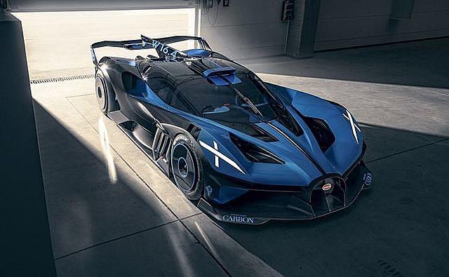 Bugatti Bolide vừa được bình chọn là siêu xe đẹp nhất thế giới năm 2020