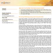 VNDirect: Báo cáo Thị trường trái phiếu doanh nghiệp