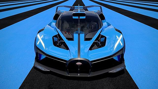 Bugatti Bolide được thương hiệu siêu xe Pháp giới thiệu vào tháng 10 năm ngoái