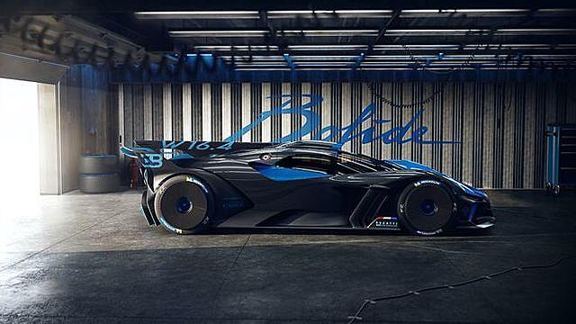 Bugatti Bolide sở hữu thiết kế ấn tượng kết hợp cùng khả năng vận hành mạnh mẽ