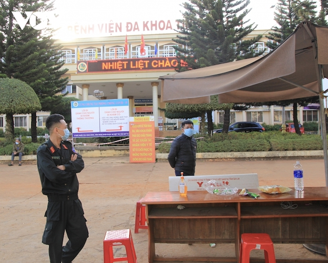 Bệnh viện Đa khoa tỉnh Gia Lai đã bị phong toả vì có ca mắc Covid-19.
