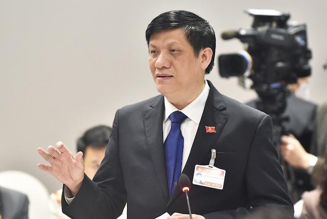 Bộ trưởng Y tế Nguyễn Thanh Long.