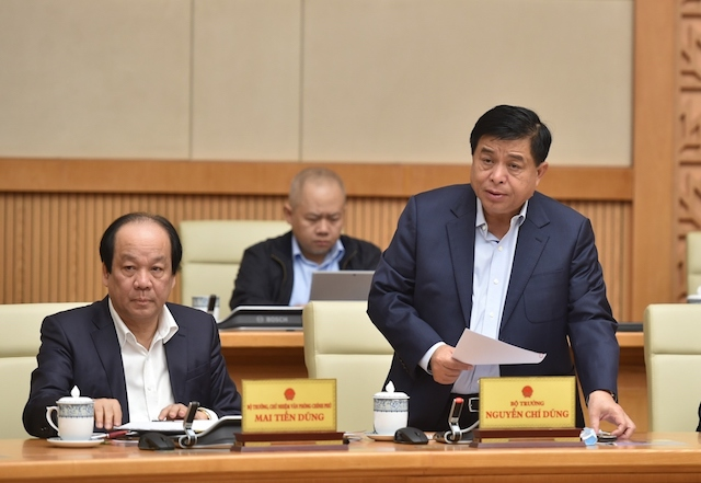Bộ trưởng Nguyễn Chí Dũng cho rằng cần khẩn trương, quyết liệt triển khai thực hiện ngay Nghị quyết Đại hội đại biểu toàn quốc lần thứ XIII của Đảng và phấn đấu đạt mục tiêu phát triển kinh tế, xã hội giai đoạn 2021-2025.