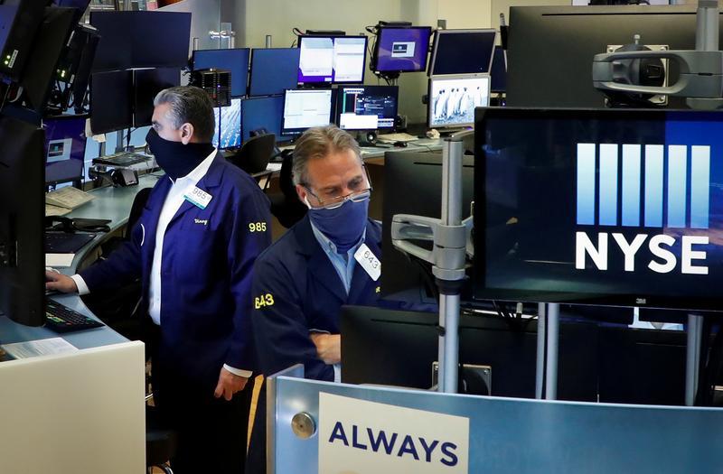 Cổ phiếu công nghệ giúp Phố Wall tăng điểm