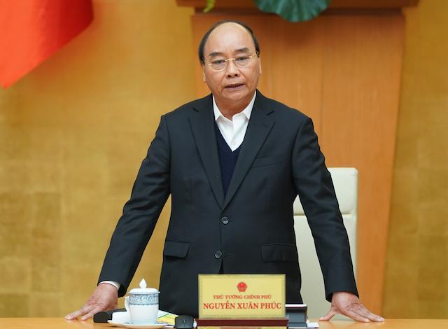 Thủ tướng Nguyễn Xuân Phúc chủ trì phiên họp Chính phủ thường kỳ tháng 1 vào sáng nay (2/2).