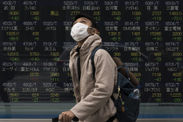 Chứng khoán châu Á phần lớn giảm