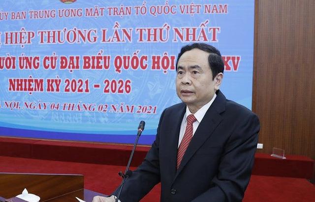 Chủ tịch Uỷ ban Trung ương Mặt trận Tổ quốc Việt Nam Trần Thanh Mẫn.