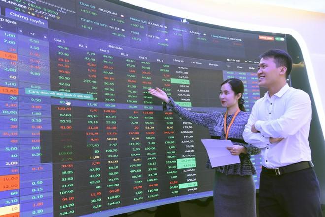 VN-Index tăng nhẹ trong phiên 4/2, thanh khoản giảm