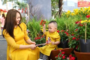 Xuân muôn phương hội tụ đường hoa Phú Mỹ Hưng, TP HCM