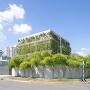 Không gian làm việc đặc biệt của một đội ngũ kiến trúc sư tại TP HCM