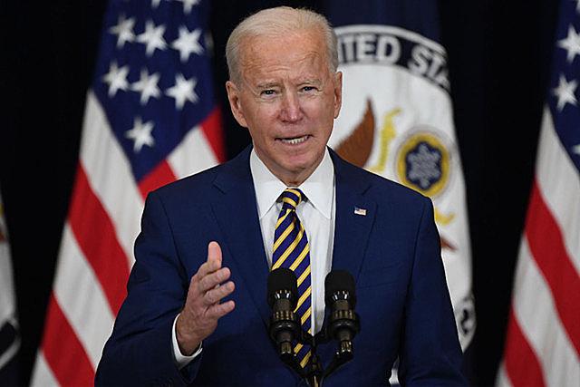 Tổng thống Mỹ Joe Biden phát biểu tại Washington, DC ngày 4/2/2021. (Nguồn: AFP/TTXVN)