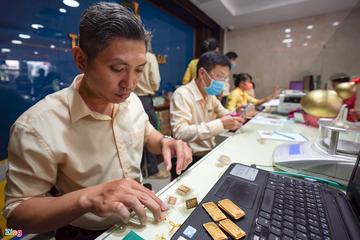 Giá vàng tăng lại sau phiên giảm sâu nhất trong 2 tháng