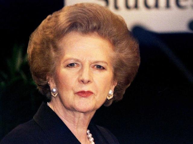 Cựu thủ tướng Anh Margaret Thatcher. Ảnh: Business Insider.