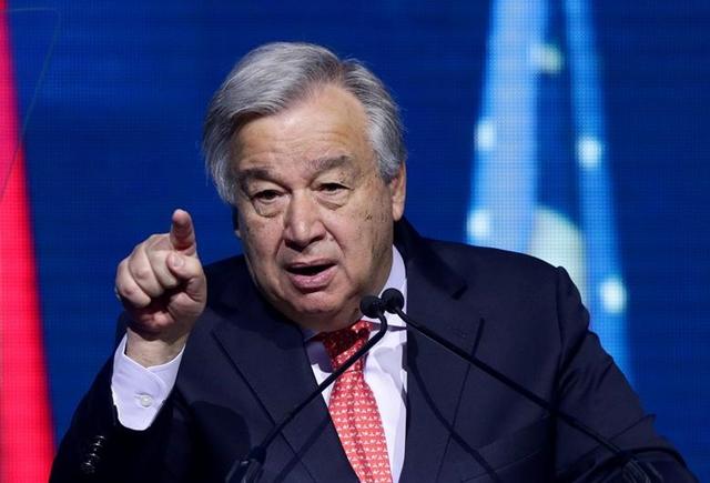 Tổng thư ký Liên Hợp Quốc Antonio GutteresẢnh: Reuters.