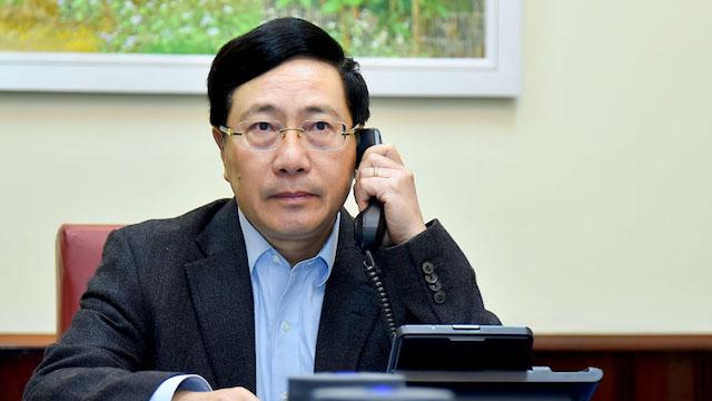 Ngoại trưởng Mỹ khẳng định coi trọng, muốn tăng cường hợp tác với Việt Nam