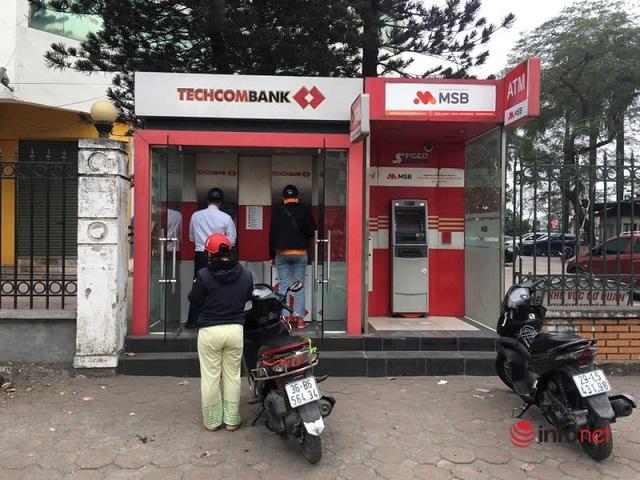 ATM vắng ngày giáp Tết