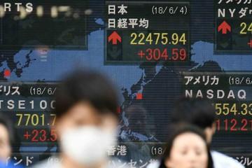 Chứng khoán châu Á trái chiều, Trung Quốc tăng mạnh nhất khu vực