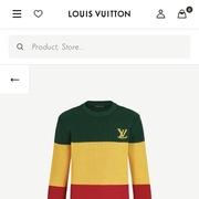 Louis Vuitton thu hồi toàn bộ mẫu áo bị làm sai màu sắc